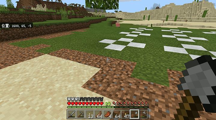 広がった植林場