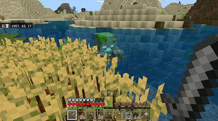 畑の横の溺死ゾンビ