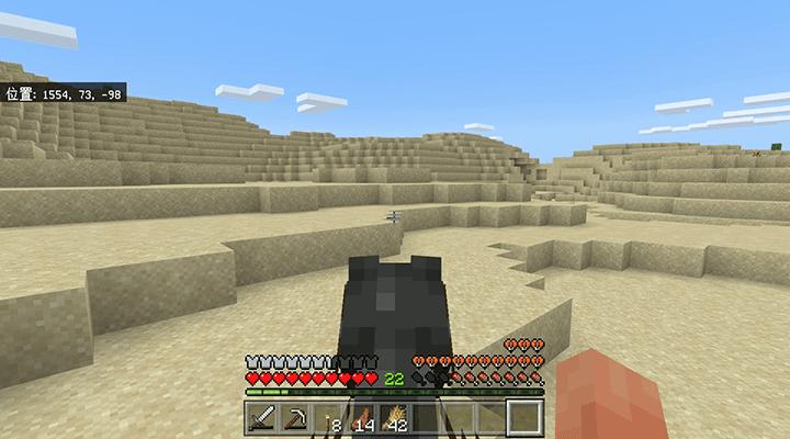 砂漠を走る馬
