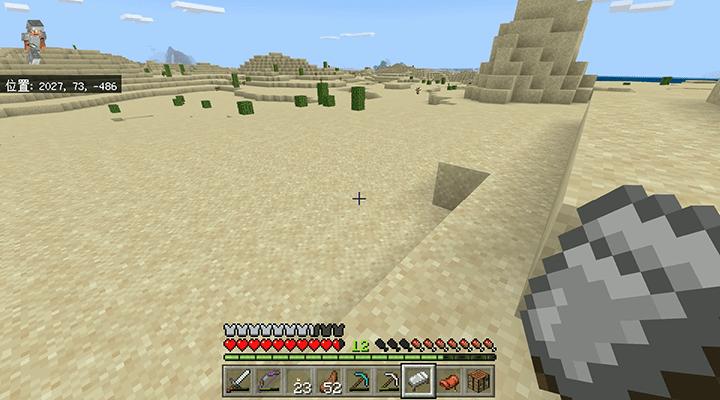 砂漠をウロウロ